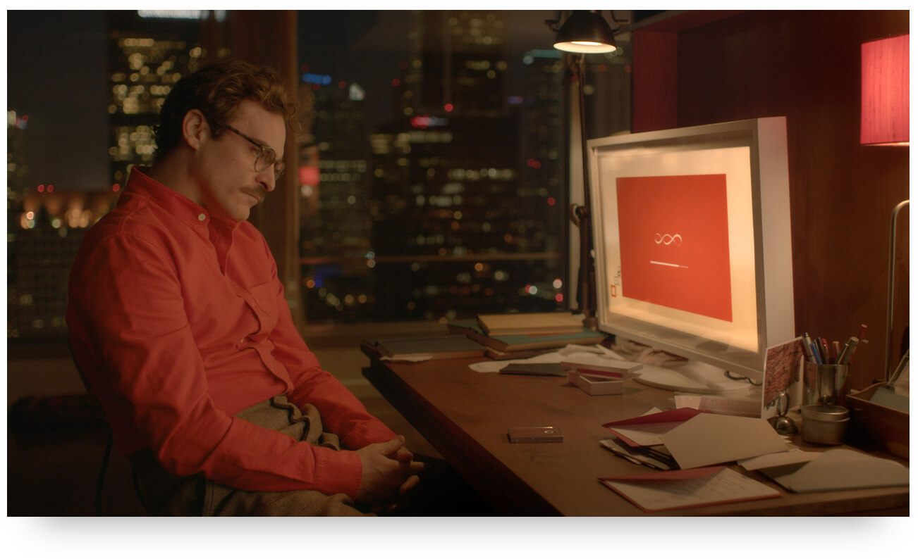 Joachim Fenix falls in love with a CUI Conversational Userface in 'Her'